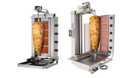 Gyros/doner kebab grills