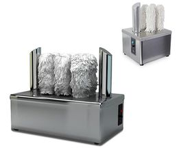 معدات لتلميع الكؤوس الزجاجية