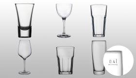 Geeichte Glasserien