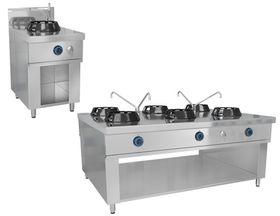 China & wok stove