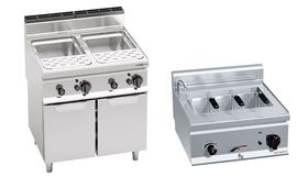 Electric & Gas pasta cookers
