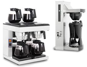 Coffee filtering machines