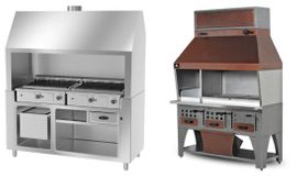 Charcoal- & gas grills