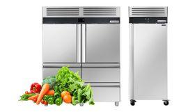 Stainless steel refrigerators / freezers