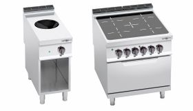 Infrared/ induction stoves