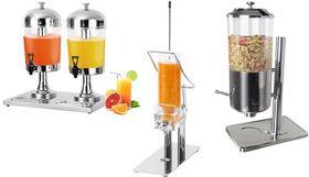 Juice / cereal & jam dispenser