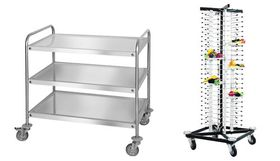 Servier- Transport- Tablettwagen