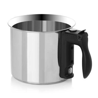 Simmer pot - Ø 16 cm   Bain Marie pot   Water bath pot   Milk pot   Water bath kettle