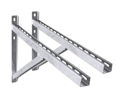 Wall support including cross members 750mm