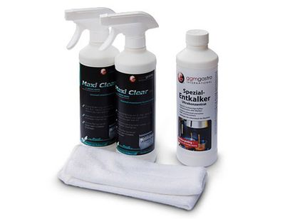 Stainless steel cleaning set - 4 pieces