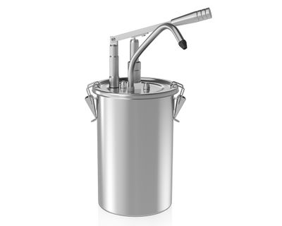 Sauce dispenser 5 liter / with container