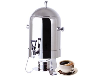 Coffee Urn with stainless steel legs