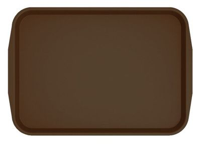 Cafeteria Tray 530 x 370mm - brown