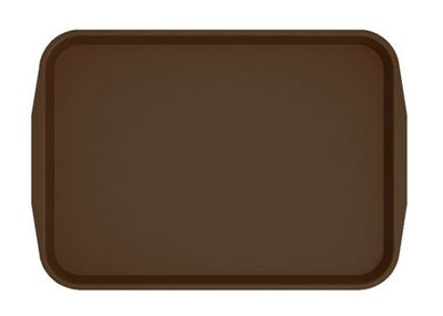 Cafeteria Tray 460 x 360mm - brown