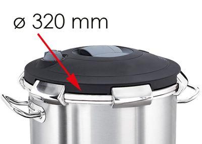 Silikon-Dichtung für Schnellkochtopf - Ø 320 mm