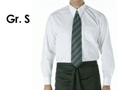 Sقميص اكمام طويلة للجنسين ابيض مقاس