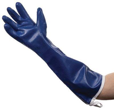 Reinigungshandschuh - blau - bis 50 °C