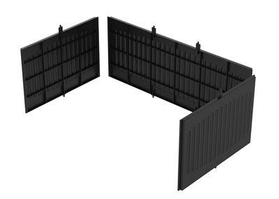 Seitenteile für Servierwagen - 6-teiliges Set