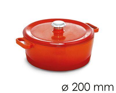 وعاء  للحساء قطر 20 سم باللون البرتقالي