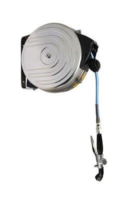 Hose reel with case & spray head - 15 metres