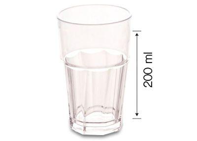 (50 Stück) Polycarbonat Glas - 300 ml