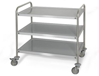 Serving trolley 0,8 m - level 3