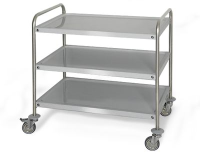 Serving trolley 1,0 m - level 3