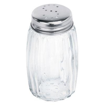 Salt shaker - glass - height: 70 mm