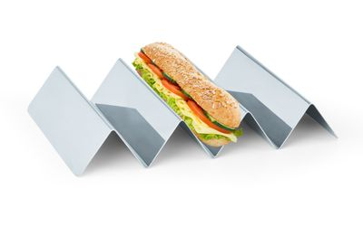 ستاند عرض وجبات خفيفة مع ثلاث طبقات