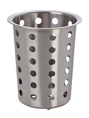 Cutlery holder - perforated - height: 13.5 cm