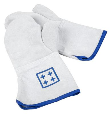 Oven gloves with thumb - length: 36 cm
