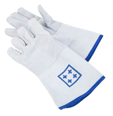 Oven gloves with 5 fingers - length: 36 cm