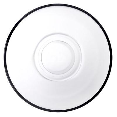 صحون لكؤوس الشاي- دائرية - قطر 102 مم - مجموعة من 6Keyif
