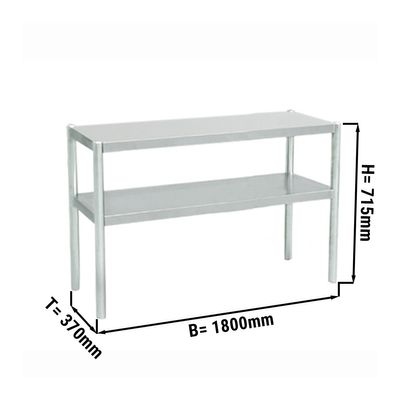 Additional table ECO 1,8 m - with 2 Floors 0,7 m height