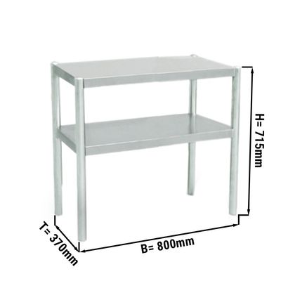 Additional table ECO 0,8 m - with 2 Floors 0,7 m height