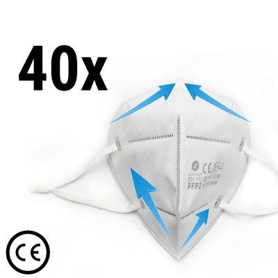 (40 Stück) FFP2 Atemschutzmaske