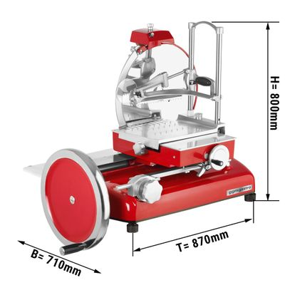 Food slicer 370 mm / rustic