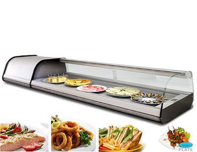 Teller - Refrigerated display case for 8x (17 x 32 cm)