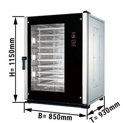 Bakery & combi-steamer 10x EN 400 x 600