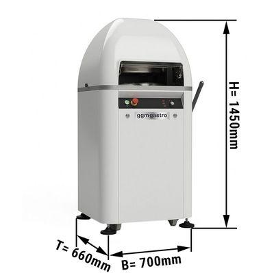Bread roll press - Capacity: 1980 bread rolls /h   Kneading machine  Cleaving machine   Dough dividing machine   Dough divider   Dough kneading machine