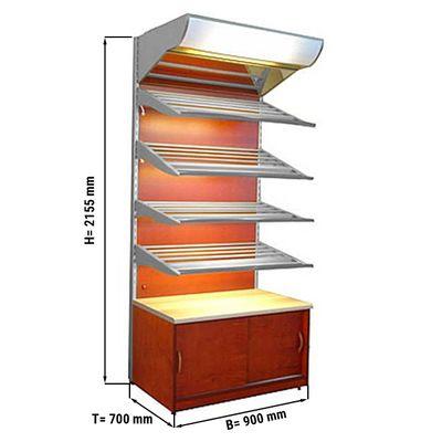 Bread shelf 0,9 x 0,7 m
