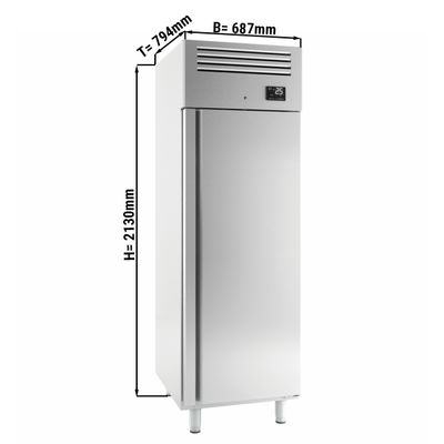 Bakery freezer (EN 60x40) - with 1 door