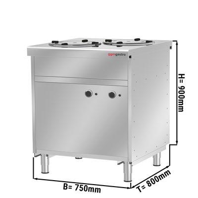 Heated plate dispenser / 120 plates - 280 mm