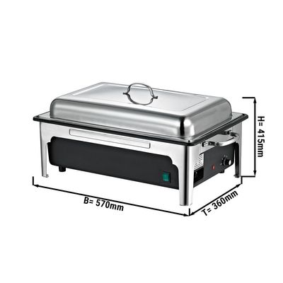 Chafing dish - Electric - GN 1/1 - with lid