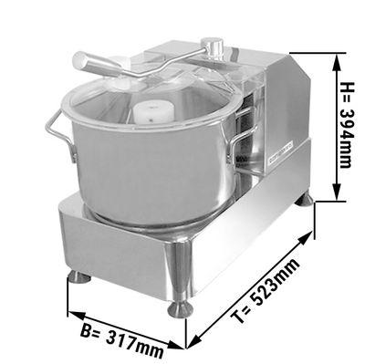 Vegetarischer Cutter - max. 6 Liter