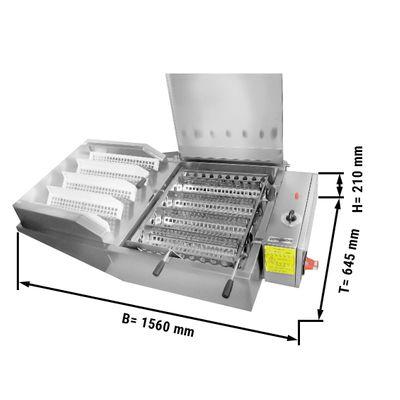 المقلاة الكهربائية / صانع الدهن - سعة: 240 قطعة / ساعة