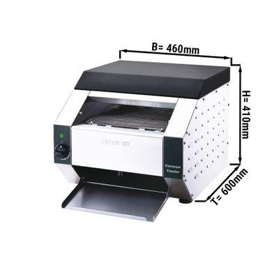 Industrial Conveyor toaster - maximum 120 kg - 3.85 kW
