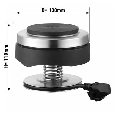 Electric heating for Chafing Dish - Ø 13,8 cm - 0,5 kW