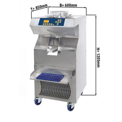 (ISALE) Eismaschine 20 Liter/h + Pasteurisierung 15 Liter/h