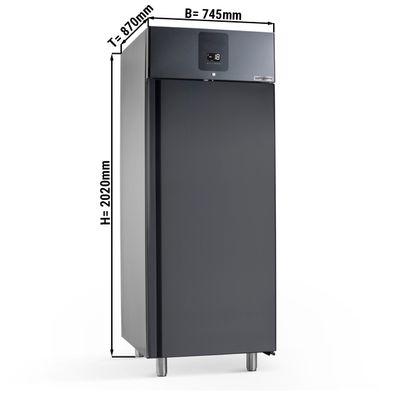 Eistiefkühlschrank - 0,74 x 0,87 m - 647 Liter - mit 1 Tür - Schwarz